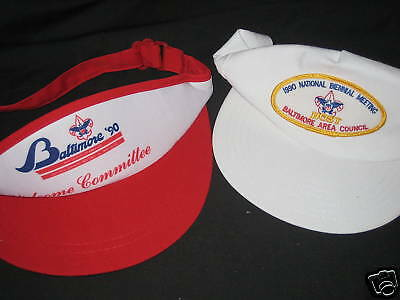 1990 BSA Baltimore Biennial Meeting lot of two hats          j21
