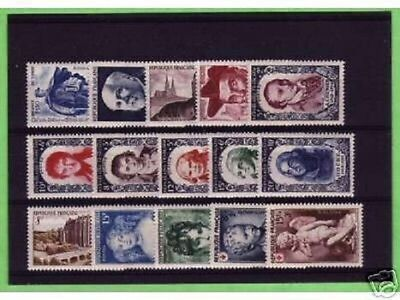 Timbres  Annee  Complete  France Neuf  Luxe  1950 +++