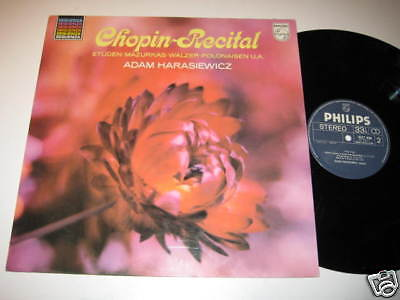 LP/CHOPIN RECITAL/HARASIEWICZ/Philips 6527046