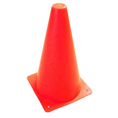 "Set Of 12 Cones 9"" 9 Inch Dog K-9 Agility Training"