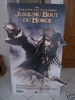 Superbe  Plv....johnny Depp / Pirates Des Caraibes.....