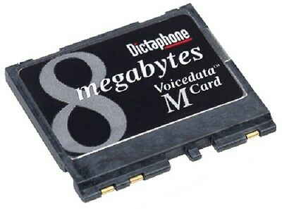 New Voicedata M Card 8 MB for Dictaphone WalkAbout 2105