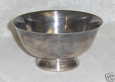 Reed and Barton Small Paul Revere Silverplate Bowl #102