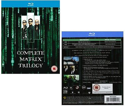 The Complete Matrix Trilogy 1999-2003: + Reloaded + Revolutions - New Blu-Ray
