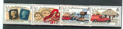Stamp On Stamp Ascension Island 1990