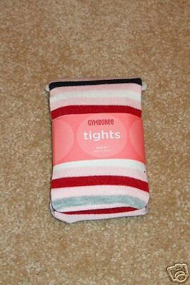 NWT GYMBOREE Schoolgirls Rock Striped Tights sz 5-7yr