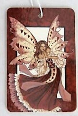 Amy Brown Air Freshner Freshener Hearts Faery Fairy New Car Fragrance