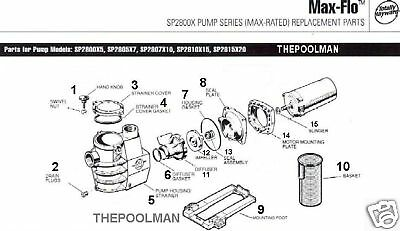 how to change a hayward pump housing gasket