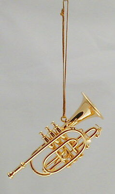Trumpet replica Ornament 2.5""