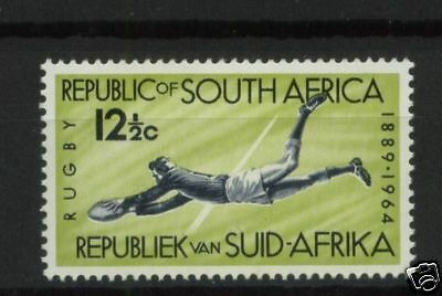 South Africa 1964 SG#253 12.5c Rugby MNH