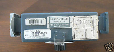 HP Variable Attenuator 375A