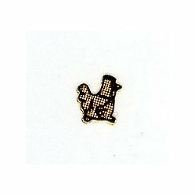 10  COPPER  ROOSTER  Nail Top  CHARMs Wholesale