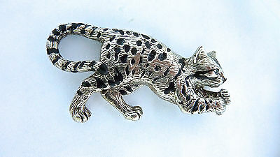 Bengal Kitty Cat 21g Sterling .925 Custom Quality Cat Pendant Necklace