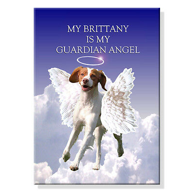 BRITTANY Guardian Angel FRIDGE MAGNET New DOG Pet Loss