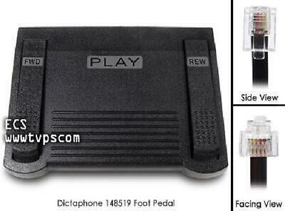 Dictaphone TransNet STNE ECS 148519 Transcription Foot Pedal