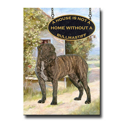 BULLMASTIFF House Is Not A Home FRIDGE MAGNET No 2 DOG