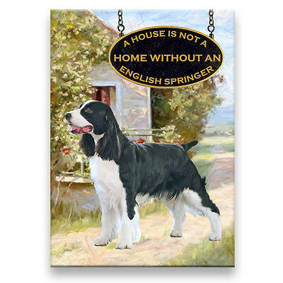 ENGLISH SPRINGER House Is Not A Home FRIDGE MAGNET No 1