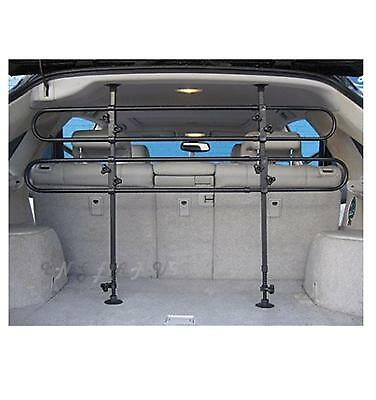 Dog guard grill universal animal safety car estate 4x4 adjustable rear bar style