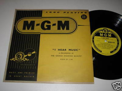 "10"" Lp/i Hear Music/the George Shearing Quintet/mgm 118"