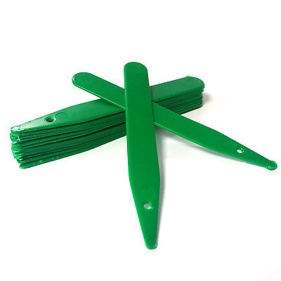 """100 x 4"""" Green Stick in Plastic Plant Labels"""