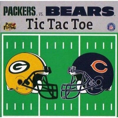 NFL Tic Tac Toe, Green Bay Packers vs. Chicago Bears