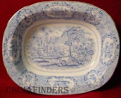 RIDGWAY china ORIENTAL pttrn OVAL VEGETABLE BOWL