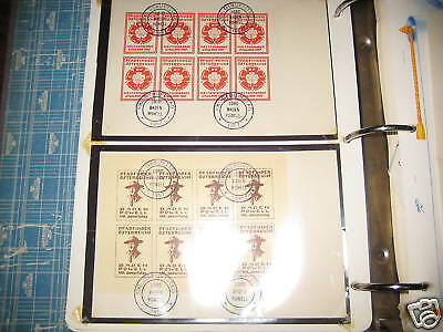 Scouts on Stamps Collection & Rockwell Scout Stamps