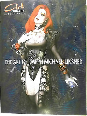Art Fantastix The Art of Joseph Michael Linsner Artbook