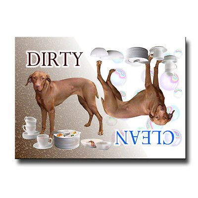 HUNGARIAN VIZSLA Clean Dirty DISHWASHER MAGNET New DOG