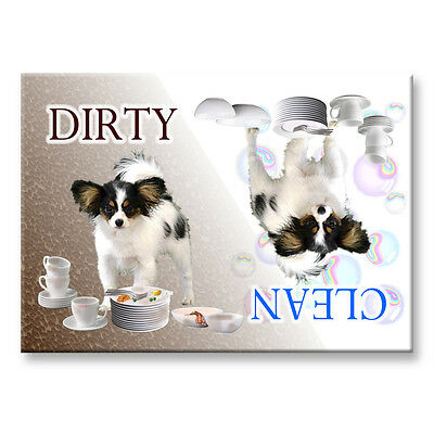 PAPILLON Clean Dirty DISHWASHER MAGNET