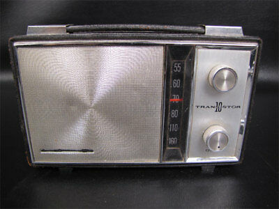 Vintage Bulova Series 1150 Radio 10 Transistor Leather