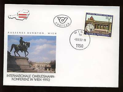 Austria 1992 Modern Art Fdc #c2813 Moderate Price Stamps