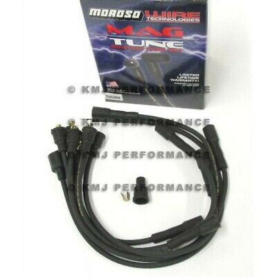 Moroso 9050M Mag-Tune Black 8mm Spark Plug Wires Chevy Inline-6 230 250 292 6Cyl