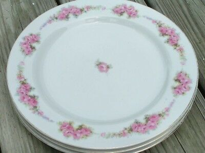 ORI8 by Orion Occupied Japan LOT 2 BREAD PLATES rare