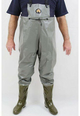 Hornes Full Length Waders - Pimple Sole Boots - 8 Med