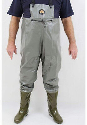 Hornes Full Length Waders - Pimple Sole Boots - 9 Med