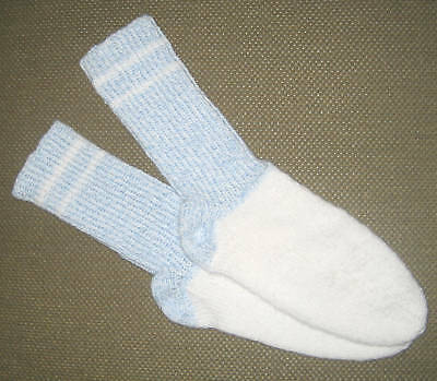 NEW Warm and Soft Hand Knit Socks