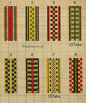 1900s HOW TO Build Tablet / CARD LOOM HAND WEAVING CD