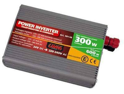 Power Inverter 500W 24>220V Spunto 600W Rohs - Lampa