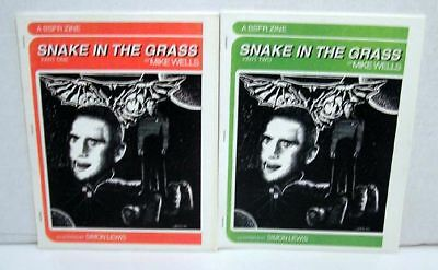 Set of 2 Star Trek Fanzine Colection-Snake in the Grass