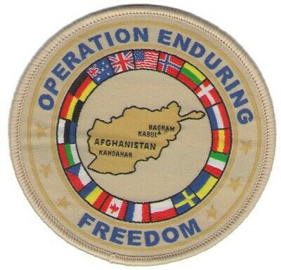 O.e.f. Coalition Patch Enduring Freedom Afghanistan Oef