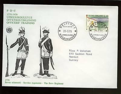 Finland 1979 Officers Training FDC
