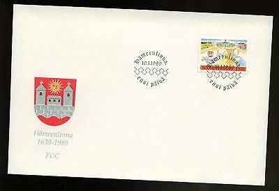 Finland 1989 Town Charter FDC
