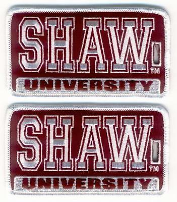 SHAW UNIVERSITY - Raleigh - Luggage ID Tags (Set of 2)