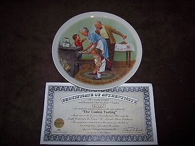 Knowles The Csatari Grandparent Plate 1982 Cookie Tasti
