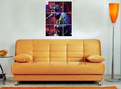 """Noel Gallagher 35""""X25""""Mosaic Montage Wall Poster Oasis"""