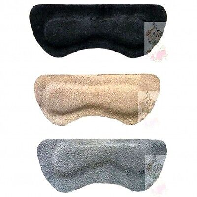 1 Pair of BRITISH QUALITY Genuine suede heel grips choice of colour