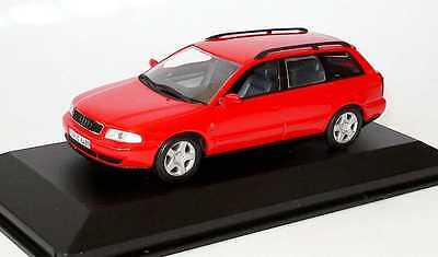 Audi A4 B5 Avant Break 2001 Minichamps 1/43 Rouge Station Wagon Rot Red Rosso