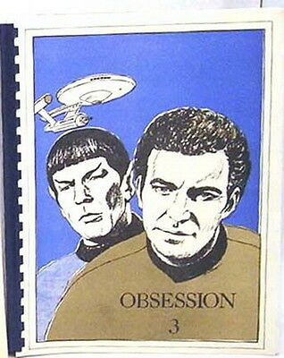 1984 Star Trek Classic Fanzine Collection-Obsession #3
