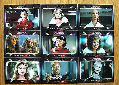 Quotable Star Trek Movies Women Of Expansion Card Set